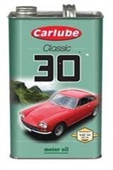 SAE 30 CARLUBE SINGLEGRADE, 4,55 liter (1 Gallon)